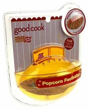 Popcorn Baller Yellow Football Shape Lot of 3 Good Cook Jolly Time Non Stick