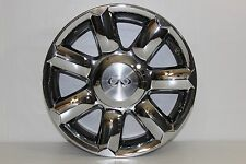 Factory OEM 04-2007 Infinity QX56 18 X 8 Polished Aluminum Alloy Rim Wheel Cap