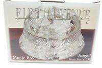 Fifth Avenue Crystal Angel Music Box (New)
