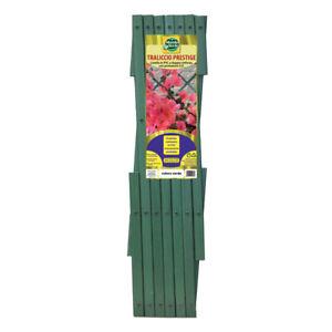 Traliccio in PVC Prestige cm 300 x 100 verde ESTENSIBILE piante fiori rampicanti