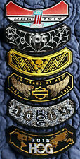 2010,2011,2013,2014,2015 Harley Davidson HOG Patches Brand New