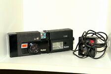 Rollei A26 Sonnar 40mm 1:3.5 mit C26 Aufsteckblitz