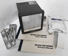 Omega RD263 RD260 Series Programmable Chart Recorder 3 Inputs 100mm Continuous