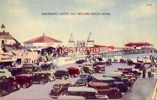 AMUSEMENT CENTER, OLD ORCHARD BEACH, MAINE circa 1940