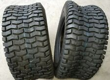 2 - 16X6.50-8 4 Ply Deestone D265 Turf Lawn Mower Tires PAIR DS7031 16x6.5-8