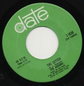 """THE ARBORS the letter*most of all 1969 CANADA DATE 7"""" 45 PSYCH w/PHASING"""