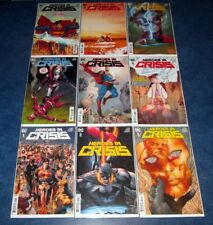 HEROES IN CRISIS #1 2 3 4 5 6 7 8 9 A complete set 1st print DC TOM KING DEATH