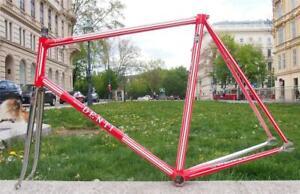 Vintage Rare DENTI TITANIC 1980s Columbus Steel Track Bike Frame 58cm Italy