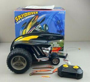 1997 Kenner XRC R/C Skydriver 9.6V 49mHz Black Radio Controlled Race Car w/ Box