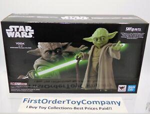 Star Wars Bandai SH Figuarts Yoda Figure NEW SEALED AUTHENTIC