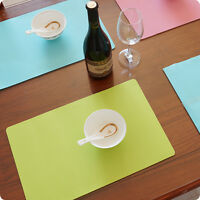 Silicone Insulation Pad Home Dining Table Bowl Kitchen Placemats Place Mat