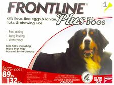Frontline Plus 89-132 lbs 1 Month Supply  EPA No expiration USA Single Dose