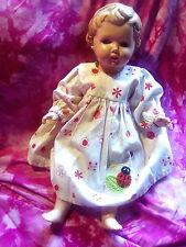 ❤❤Original Schildkröt Puppe T36 Spielzeug alt blaue Glasaugen Ursel Inge Bärbel❤