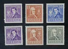 CKStamps: Sweden Stamps Collection Scott#293-298 Mint NH OG