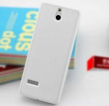 New White Rubber soft Case for Nokia 515 Asha 515