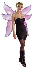 NEW Ladies Extra Large Purple Butterfly Angel Fairy Wings Fancy Dress Costume