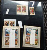 BURUNDI Umfangreiche Sammlung postfrisch/gestempelt Viele ungezähnte Hoher WERT