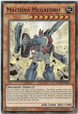 Machina Megaform NECH-EN036 Super Rare Yu-Gi-Oh Card 1st Edition English New