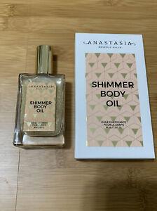 ANASTASIA Beverly Hills Shimmer Body Oil 1.5 FL OZ/45mL FULL SIZE