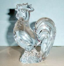 Baccarat Zodiac Rooster Clear French Crystal #2810263 New in Box