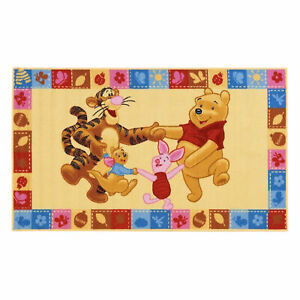 Tappeto antiscivolo cameretta bambini Disney Winnie the Pooh 100x170 cm 3469