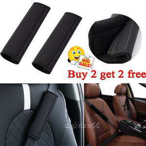 UK Car Seat Belt Cover Pads Car Safety Cushion Covers Strap Pad For Adults Kids
