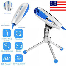 Microphone W/ Tripod Stand Home Audio Recording For Computer PC Phone Desktop BP