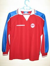 SERVETTE FC GENEVE 1998-99 HOME UMBRO RARE JERSEY SIZE 158 12/13 Years