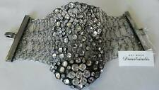 Art Wear Dimitriadis Designer Wire Cuff Bracelet*Swarovski Elements*Crystals