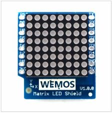LED Matrix Shield For Wemos D1 Mini IOT Blynk ESP8266 Arduino Node Mcu