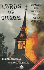 LORDS OF CHAOS - Buch über Black Metal mit Michael Moynihan & Didrik Söderlund