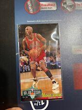 1993-94 FLEER NBA JAM SESSION • MICHAEL JORDAN CARDS #13• BULLS Corner Wear