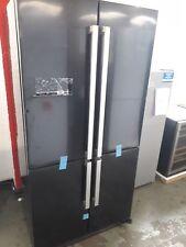 Servis FD911K Large Capacity American Fridge Freezer Black