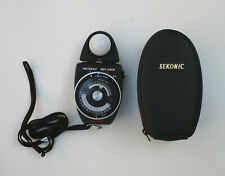 Vintage Sekonic L-418 Light Auto Meter with Case