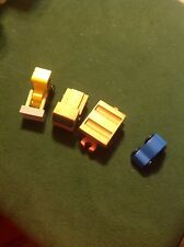 Lot of 4 Wood Train Cars - 2 Mattel And 2 Unbranded