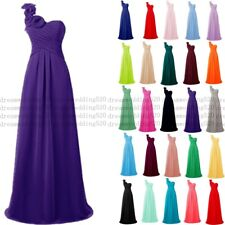 New Chiffon Formal Evening Bridesmaid Dresses Party Ball Prom Gown Dress 6-30
