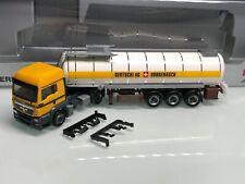 Herpa Bertschi Schweiz MAN TGS LX Bitumen Tank SZ in OVP 7328