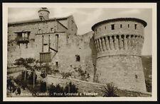 cartolina BRESCIA castello-ponte levatoio e torrione