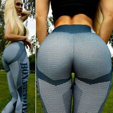 Womens Running Yoga Fitness Leggings Gym Pants Ladies Sports Exercise Trousers