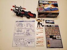 New listing Gi Joe Cobra Adder With Box Blueprint & Dreadnok Road Pig W/ Cardback & More