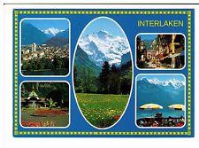 Postcard: Multiview - Interlaken, Switzerland