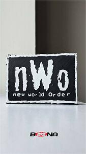 Decorative nWo NEW WORLD ORDER self standing logo display WCW WWF WWE NJPW