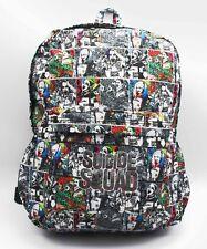 DC Suicide Squad Harley Quinn Joker Backpack School Laptop Bag
