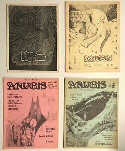 First 4 issues Anubis Magazine • 1966 - 1968 • with Vaughn Bodē