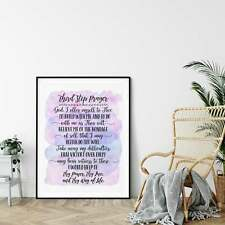Third Step Prayer, Bible Verse Printable Wall Art Prayer,Prints,Nursery Decor