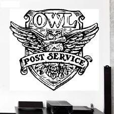 Owl Post Service Wappen Harry Potter Wallpaper Wand Schmuck 57 x 52 cm Wandbild