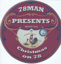 78Man Presents Christmas on 78 CD (Leslie Sarony/Fats Waller/Goons/Singing Dogs)