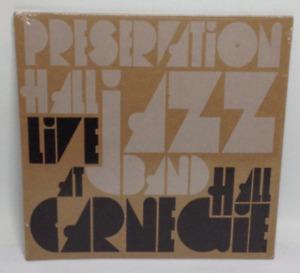 NEW  Preservation Hall Jazz Band Live at Carnegie Hall Fan Pack Vinyl