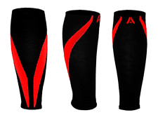 Calf Compression Sleeves | One Pair Fitness Graduated Shin Splints & Performance