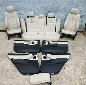 BMW X3 F25 M Sport Leather Interior Seats Cream LCI 2017